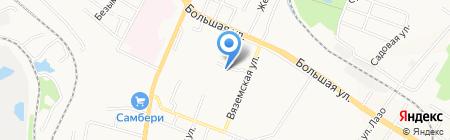 Flowers Group на карте Хабаровска