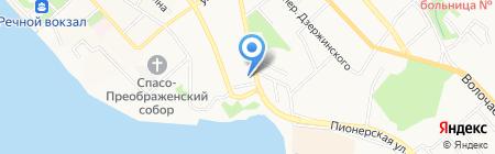 Транснефть-Дальний Восток на карте Хабаровска