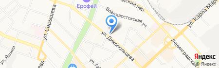 СпортЛайнДВ на карте Хабаровска