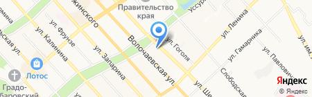 Пхеньян на карте Хабаровска