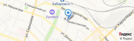 Росэлектрокомплект на карте Хабаровска