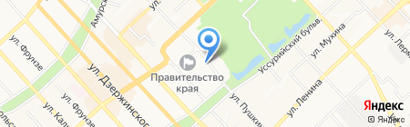 Баклажан на карте Хабаровска