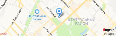 Гайд Парк на карте Хабаровска