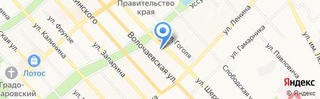 Хабаровская энерготехнологическая компания на карте Хабаровска