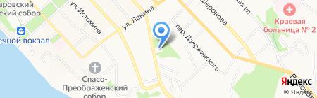 Удачный выбор на карте Хабаровска