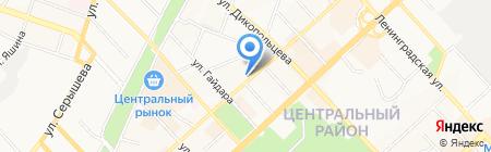 Дальневосточное следственное Управление на транспорте Следственного комитета РФ на карте Хабаровска