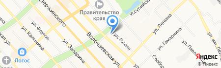 Статус на карте Хабаровска