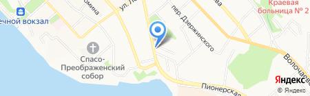 Первый на карте Хабаровска