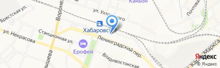 Гимназия №6 на карте Хабаровска