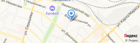 АюрДент на карте Хабаровска