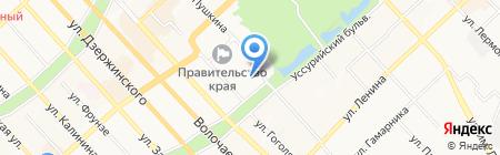 Эскулап на карте Хабаровска