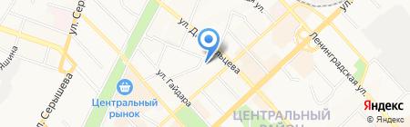 Детский сад №75 на карте Хабаровска
