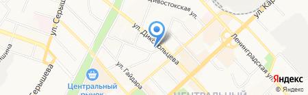 Отдел полиции №6 на карте Хабаровска