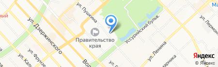 Комитет лесной промышленности на карте Хабаровска