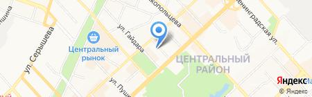 Comfortik на карте Хабаровска