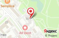 Схема проезда до компании СПЕЦНАЗ в Хабаровске