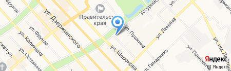 Magenta на карте Хабаровска