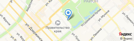 R-Style Vostok на карте Хабаровска