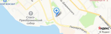ДунБэй на карте Хабаровска