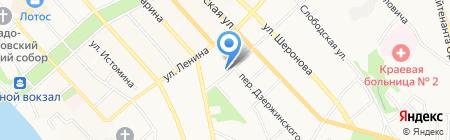 ДВ-Комфорт Строй Сервис на карте Хабаровска