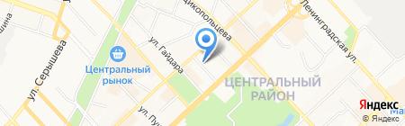 Dionelli на карте Хабаровска