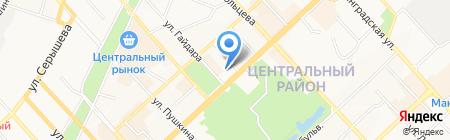 Балкон-сервис на карте Хабаровска