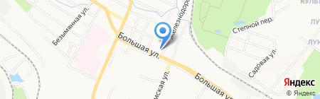 GDS на карте Хабаровска