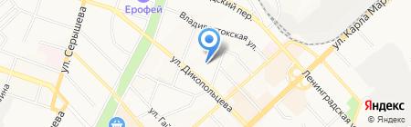 Лайм на карте Хабаровска