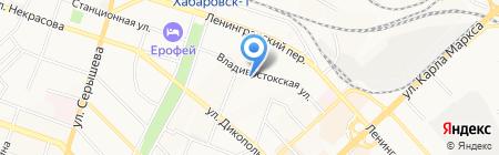 Управление образования на карте Хабаровска
