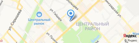 ИНСИ на карте Хабаровска