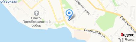 Тепловые сети на карте Хабаровска