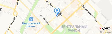Мяско на карте Хабаровска