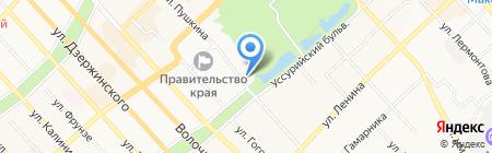 Даль-Инвест-Тур на карте Хабаровска
