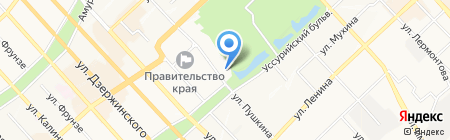 ДальЖАСО на карте Хабаровска