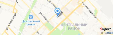 Центр занятости населения г. Хабаровска на карте Хабаровска
