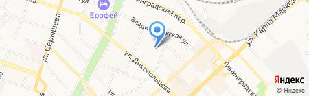 Компьютерная клиника №272 на карте Хабаровска
