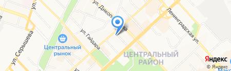 Аквафор-Групп на карте Хабаровска