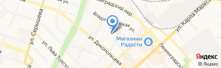 ФПК-Сервис на карте Хабаровска