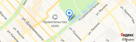 7D на карте Хабаровска