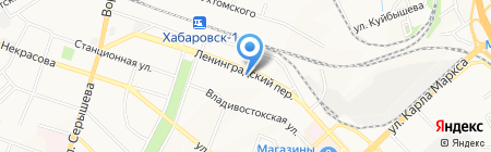 Пломба.ру на карте Хабаровска