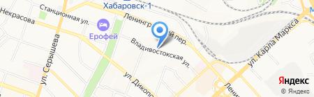 Домофоны на карте Хабаровска