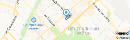 Управление культуры на карте Хабаровска