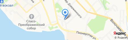 Доступный на карте Хабаровска