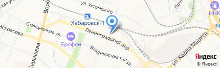 Восхождение центр по работе с детьми на карте Хабаровска