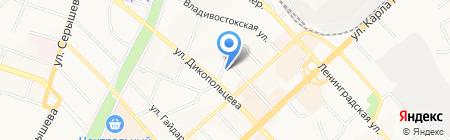 Рос-ДВ на карте Хабаровска