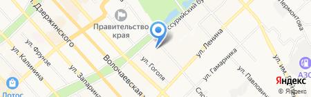 Хоум Мастер Плюс на карте Хабаровска