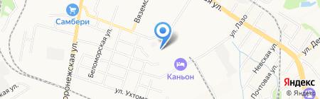 Стилма на карте Хабаровска