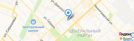 Государственный архив Хабаровского края на карте Хабаровска