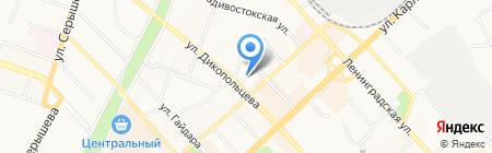 Автозаказ на карте Хабаровска
