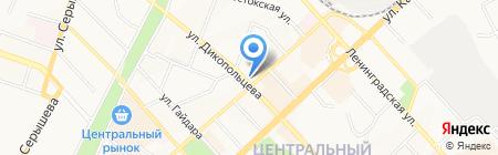 Институт Тектоники и Геофизики им. Ю.А. Косыгина на карте Хабаровска
